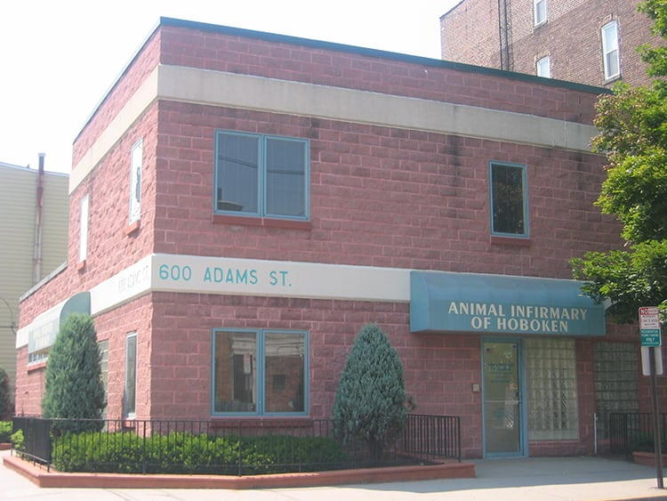 Animal Hospital in Hoboken: Exterior View of Practice